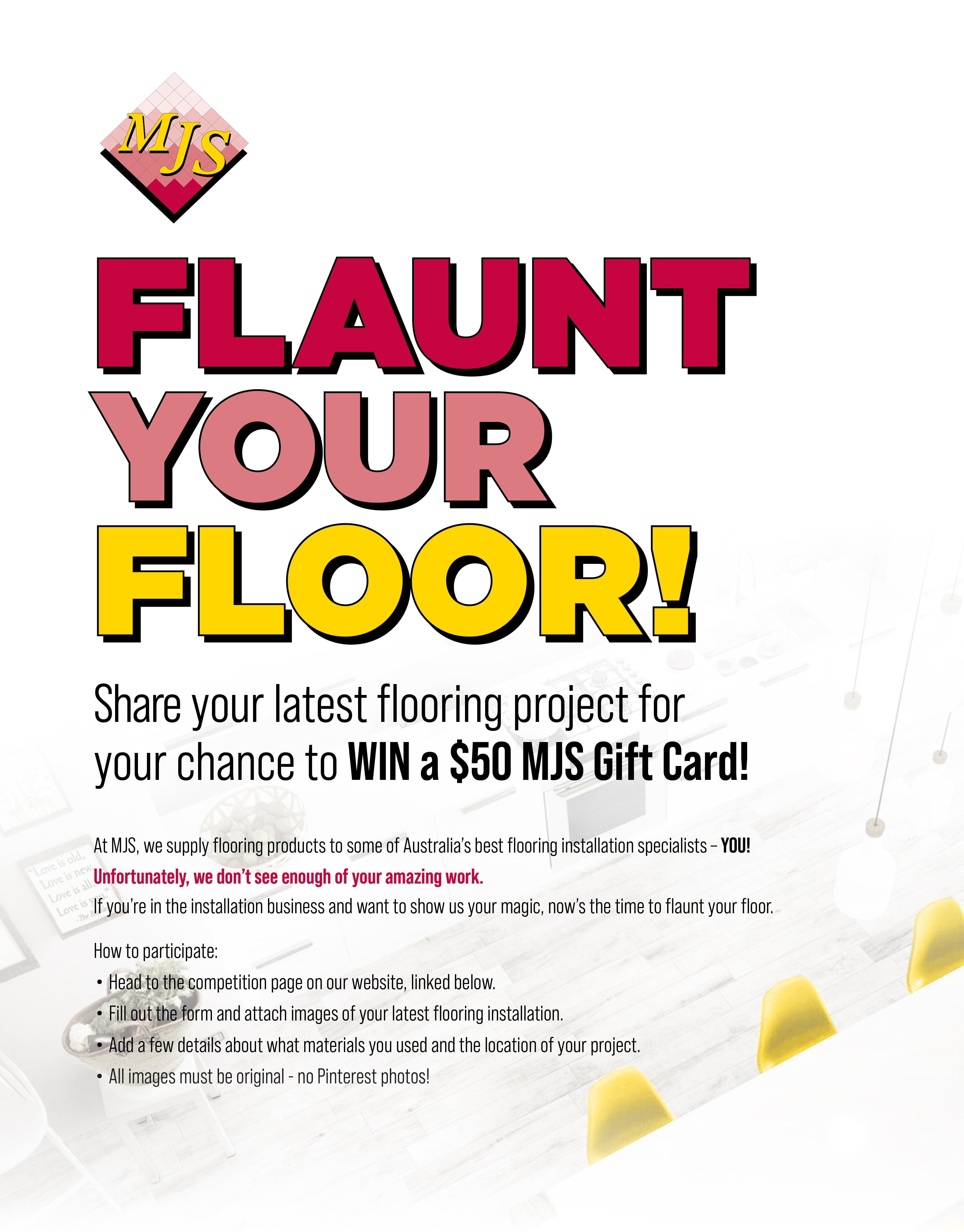 Flaunt Your Floor